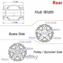 21 3.5 Front 16 3.5 Rear Fat Spoke Wheels for Harley Dyna Softail Touring