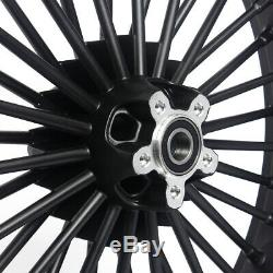 21 Front+ 18 Rear Cast Wheels Single Disc Fat Spokes Dyna Low Rider FXDWG FXD