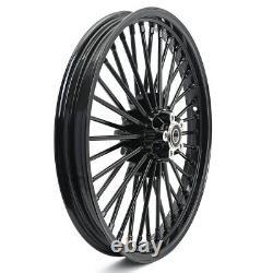 21x2,15 18x3.5 Black Front Rear Spokes Wheels Set for Harley Dyna Sportster
