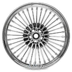 21x2.15 18x3.5 Fat Spoke Wheels Rims for Harley Softail Fatboy Deluxe 08-17