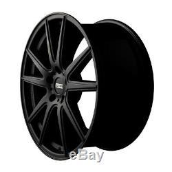 22 Matte Black Wheels Rims