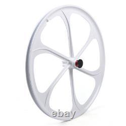 26 6-Spoke MTB Bike Mag 7/8/9/10 Speed Front&Rear Wheel Rims Wheelset Kit Tire