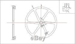 29er Full Carbon MTB Bike Wheels 6-Spoke Mountain Bicycle Wheelsets 30mm Width