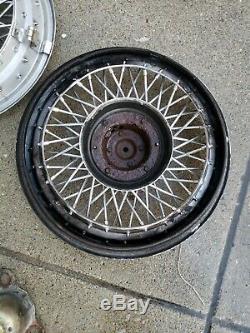 3 Chevy Caprice Wire Wheel Covers Hub Caps Spoke 10201261 Oem Gm