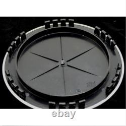 4 CHEVY GMC 15 Smooth Aluminum 5 Lug Wheel Center Hub Caps Hubs Rim Nut Covers