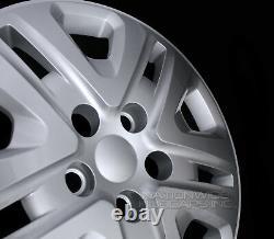 4 for Dodge Grand Caravan 2014-2018 Bolt On 17 Hub Caps Full Rim Wheel Covers