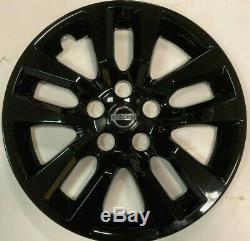 4x BLACK Hubcap fits 2007-2018 Nissan ALTIMA 16'' 10 SPOKE 2007-2018 NEW