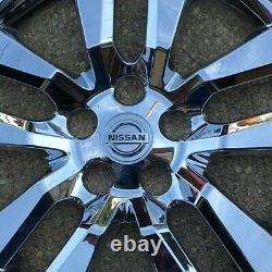 4x CHROME Hubcaps fits 2007-2018 Nissan ALTIMA 16'' 10 SPOKE NEW 2007-2018