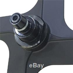 700c 4 Spoke Fixed Gear Single Speed Bike Fixie Spoke Mag Wheel Rim Front + Rear