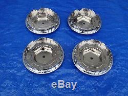 94 95 96 CHEVY IMPALA SS 17 5 SPOKE WHEEL HUb CENTER CAPS set of 4