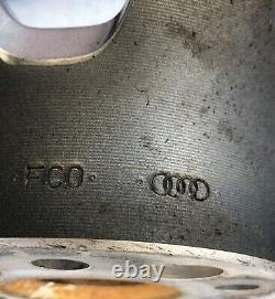 AUDI R8 OEM FACTORY GENUINE 10 SPOKE GLOSS Polish 19 Wheels Rims Forged 15 VW