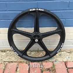 Acs Z-mag 5 Spoke Mag Bmx Wheels Black 20 Set Freewheels