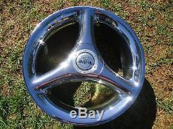 Antera Tri Spokes Wheels Rims Center Caps 18x8.5 Et14mm P/n 109858003 Rare