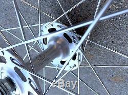Araya 7B Rims 36 Spokes with Shimano Hubs Front & Rear