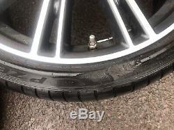 BMW G30 Alloys & Tyres LA V Spoke 759i 20 inch Front / Rear Pn 8053501 / 8053502