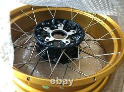 BMW R1250GS Rear Gold Spoked Wheel