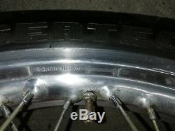 BMW Spoke Rims Set Front Wheel Rear Wheel R80 R100 Rs Rt