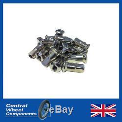 BSA Spoke Set A7 A10 A50 A65 B33 M20 Front 19 Half Width & Rear 19 QD Crinkle