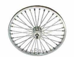 Bicycle 26 x 1.75 Steel Wheel TWISTED SPOKES Front or Rear Lowrider Cruiser