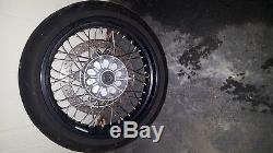 Bmw 2006 Hp2 Enduro Front & Rear Oem Complete Set, Street Spoke Wheels