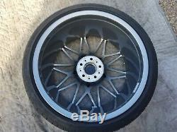 Bmw M3 & M4 Style 666m Oem 10 Double Spoke 20 Wheel/tire/tpms & Center Caps