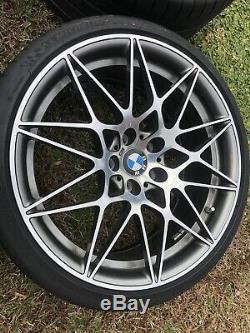 Bmw M3 & M4 Style 666m Oem Genuine Spoke 20 Wheel & Tires Tpms