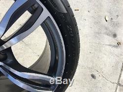 Bmw M5 & M6 Style 343 Oem Genuine Double Spoke 20 Wheel/tire/tpms/center Caps