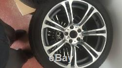 Bmw M5 & M6 Style 344m Oem Genuine Double Spoke 19 Wheels And Tires F10 F12