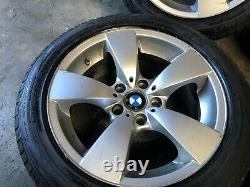 Bmw Oem E60 E61 525 528 530 535 545 550 M5 Front Rear Set Rim Wheel And Tire 17