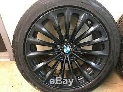 Bmw Oem F01 F02 F10 740 750 760 535 550 Front Rear Set Rim Wheel And Tire 19