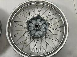 Bmw R1150gs Adventure Spoked Tubeless Wheels Front And Rear Pair. Rebuilt
