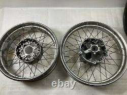 Bmw R1200gs Adventure LC Spoked Tubeless Wheels Front And Rear Pair R1250gs