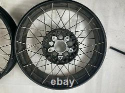 Bmw R1200gs Adventure LC Spoked Tubeless Wheels Front And Rear Pair. R1250gs