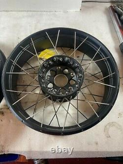 Bmw R1200gs Adventure LC Spoked Tubeless Wheels Front Rear R1250gs