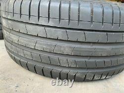 Bmw X5 & X6 Oem Spoke Style 451 Grey Machined 20 Wheel/tire/tpms & Cap Set