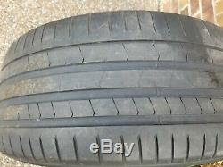 Bmw X5 & X6 Series Oem Spoke Style 451 20 Blk Wheel/tire/tpms & Center Cap Set