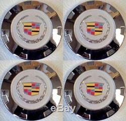 CC24 D0974 Wheels Center Cap 7.25 For CADILLAC ESCALADE CHROME COLORED 22
