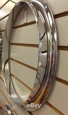 CHEVY CHEVELLE CAMARO 5-Spoke Wheel TRIM RINGS & CENTER CAPS SET