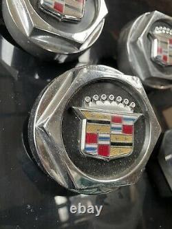 Cadillac 1612573 Center Cap Set Wire Spoke Wheel Seville 1977 1978 1979 Elegante