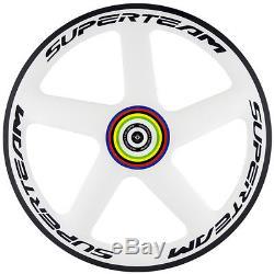 Carbon Disc Wheels Rear Front 5 Spoke Wheel TT Bike Carbon Road Bicycle Wheelset