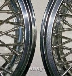 Chevrolet Malibu Hubcap 14 Wire Spoke Wheel Rim Cover 2 OEM 1981-1987