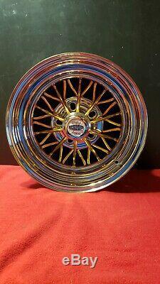 Cragar Star Wire 30 Spoke New in Box 15 x 8 Back Spacing 3.75 Weld wire wheel