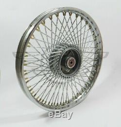 Custom modified 72 spoke Front & Rear wheel assy Honda SS50 90 CD50 CL90 Cub C90