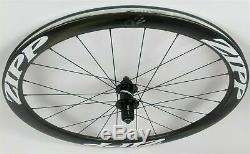 DEMO Zipp 302 Carbon Clincher Disc Brake Rear Wheel 700c 24 Spokes 10/11 Speed