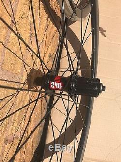 DT240 Hubs Front & Rear Clincher Carbon Rims 700C Wheelset DT Spokes
