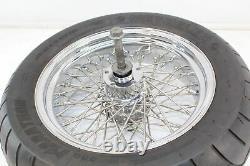 Dna 60 Spoke Front Rear Wheel Pair Rim Set Guaranteed Straight Chrome Spoked