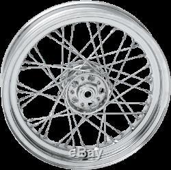 Drag 16 3 40 Spoke OE Rear Wheel Rim Star Hub Harley Knucklehead Panhead 36-66