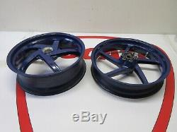 Ducati Marchesini 5 spoke wheels wheel set rim rims front rear 748 916 996 998