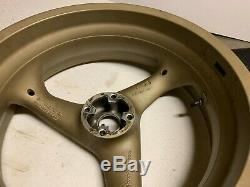 Ducati OEM Brembo 3 Spoke Wheels Rims Front Rear 748 916 996 998 S4R S2R