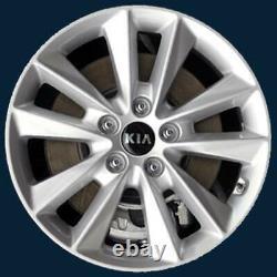FITS 2019-2020 Kia Sorento 17 10 Spoke Rims Gloss Black Wheel Skins # 7019-GB